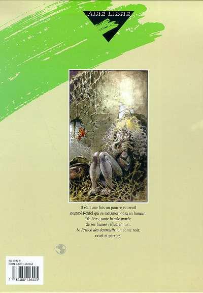 Dos le prince des écureuils tome 1
