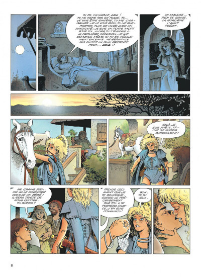 Page 8 aria tome 20 - la fleur au ventre