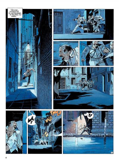 Page 3 largo winch tome 9 - voir venise