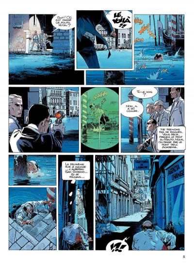 Page 4 largo winch tome 9 - voir venise