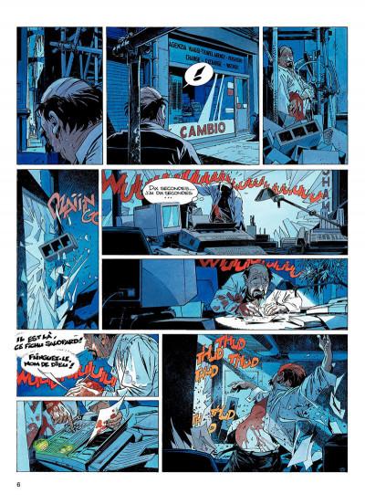 Page 5 largo winch tome 9 - voir venise