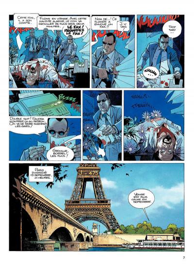 Page 6 largo winch tome 9 - voir venise