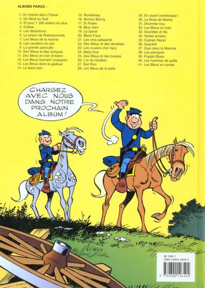 Dos les tuniques bleues tome 41 - les bleus en cavale