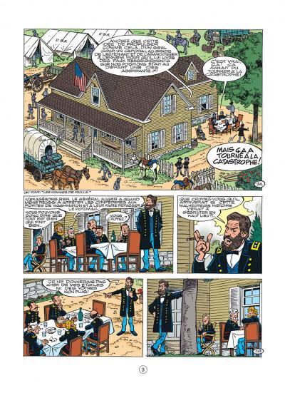Page 3 les tuniques bleues tome 41 - les bleus en cavale