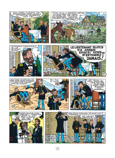 Page 4 les tuniques bleues tome 41 - les bleus en cavale
