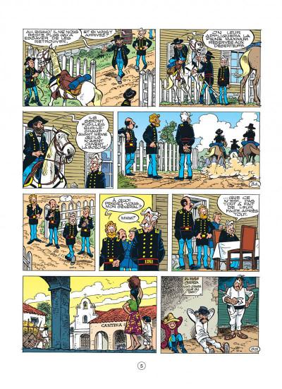 Page 5 les tuniques bleues tome 41 - les bleus en cavale
