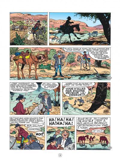 Page 8 les tuniques bleues tome 41 - les bleus en cavale