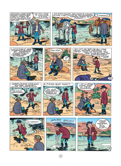Page 9 les tuniques bleues tome 41 - les bleus en cavale