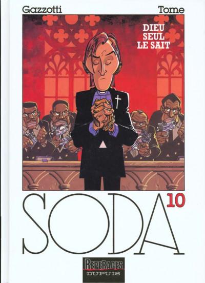 Couverture soda tome 10 - dieu seul le sait