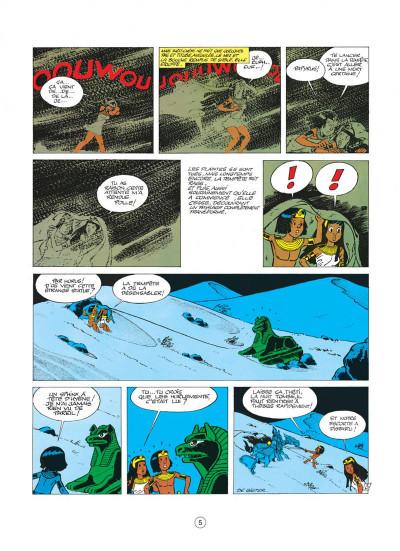 Page 5 papyrus tome 3 - le colosse sans visage
