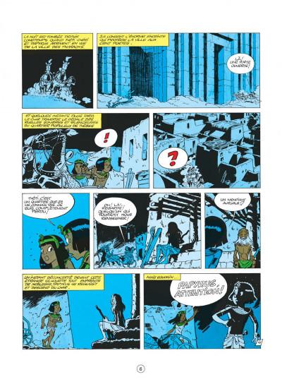 Page 6 papyrus tome 3 - le colosse sans visage