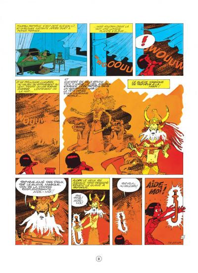 Page 8 papyrus tome 3 - le colosse sans visage