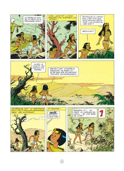 Page 4 papyrus tome 4 - le tombeau de pharaon