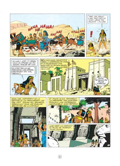 Page 6 papyrus tome 4 - le tombeau de pharaon