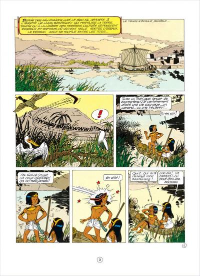 Page 3 papyrus tome 5 - l'égyptien blanc