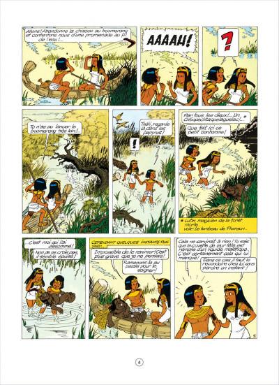 Page 4 papyrus tome 5 - l'égyptien blanc
