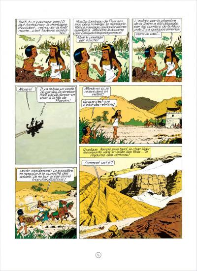 Page 5 papyrus tome 5 - l'égyptien blanc