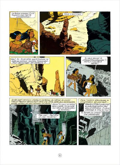 Page 6 papyrus tome 5 - l'égyptien blanc