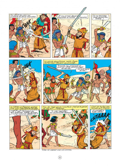 Page 9 papyrus tome 9 - les larmes du géant