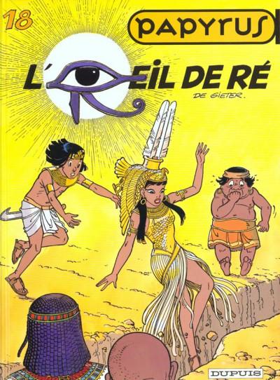 Couverture papyrus tome 18 - l'oeil de ré