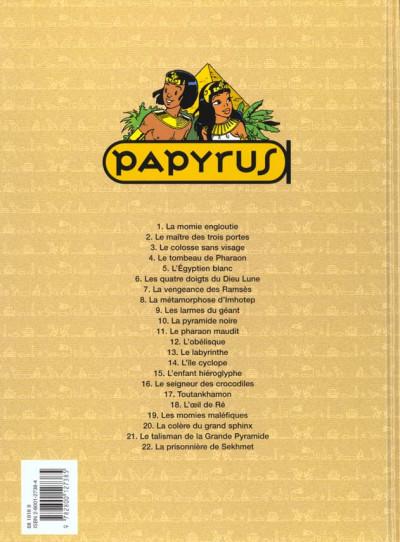 Dos papyrus tome 18 - l'oeil de ré