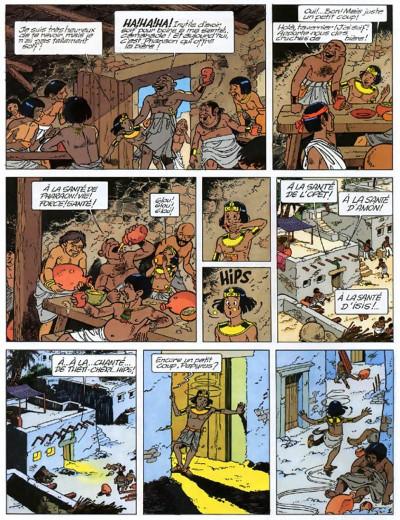 Page 4 papyrus tome 18 - l'oeil de ré