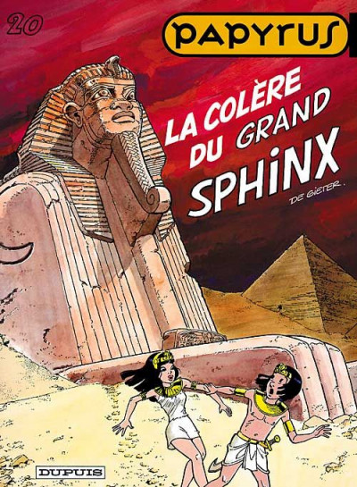 image de papyrus tome 20 - la colère du grand sphynx