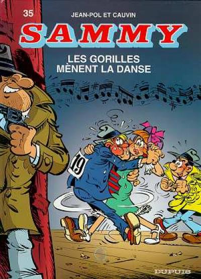 image de sammy tome 35 - les gorilles mènent la danse