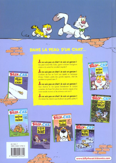 Dos billy the cat tome 7 - la bande a billy