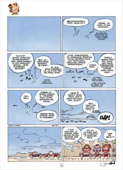 Page 3 le petit spirou tome 8 - t'as qu'à t'retenir
