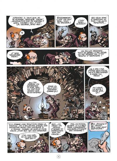 Page 4 le petit spirou tome 8 - t'as qu'à t'retenir