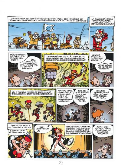 Page 7 le petit spirou tome 8 - t'as qu'à t'retenir