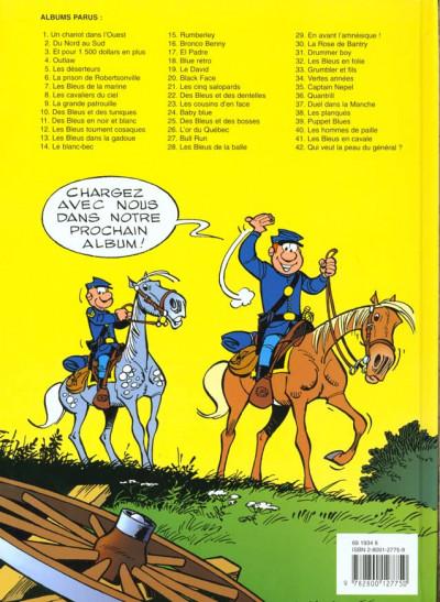 Dos les tuniques bleues tome 42 - qui veut la peau du général
