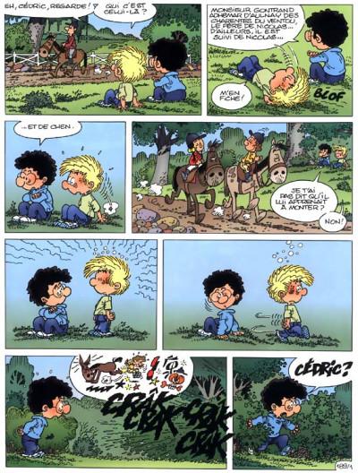 Page 1 cedric tome 13 - papa, je veux un cheval !