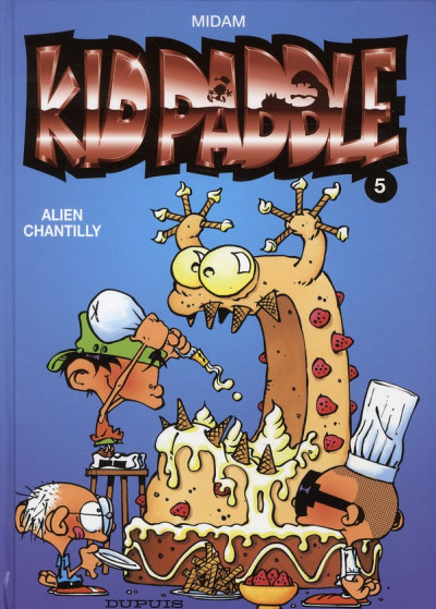 Couverture Kid Paddle tome 5