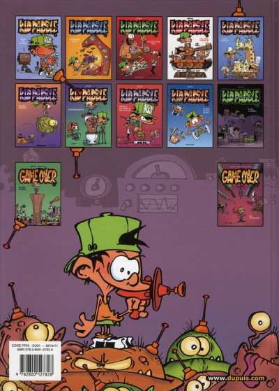 Dos Kid Paddle tome 5
