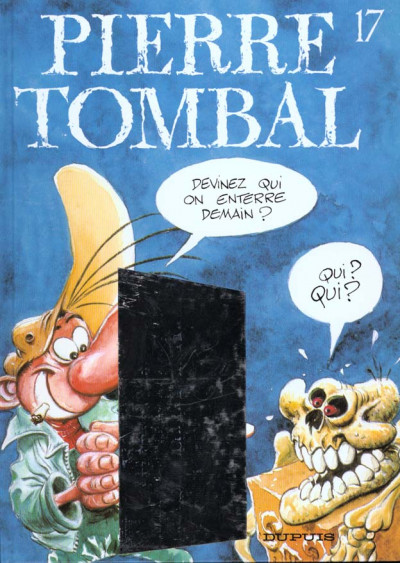 Couverture pierre tombal tome 17 - qui on enterre demain