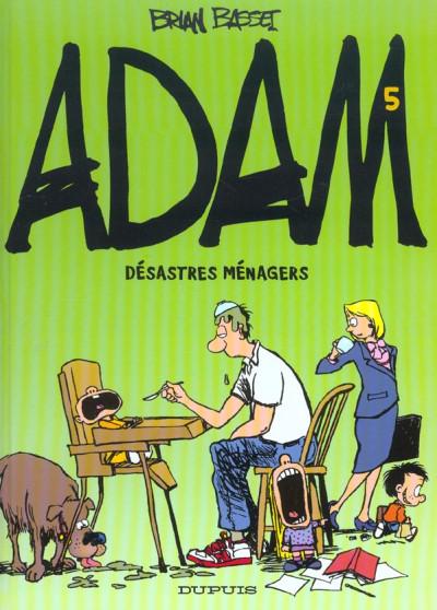 Couverture Adam tome 5