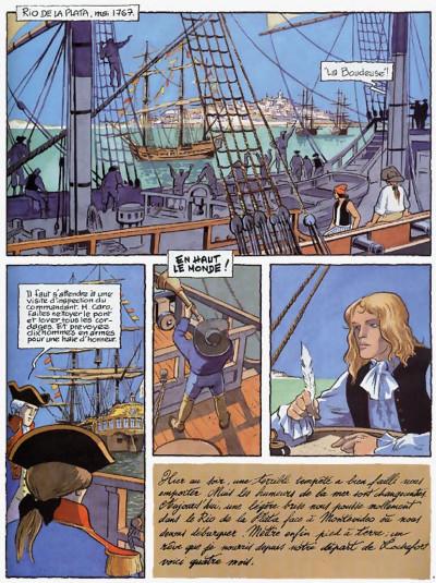 Page 9 le passage de vénus tome 2