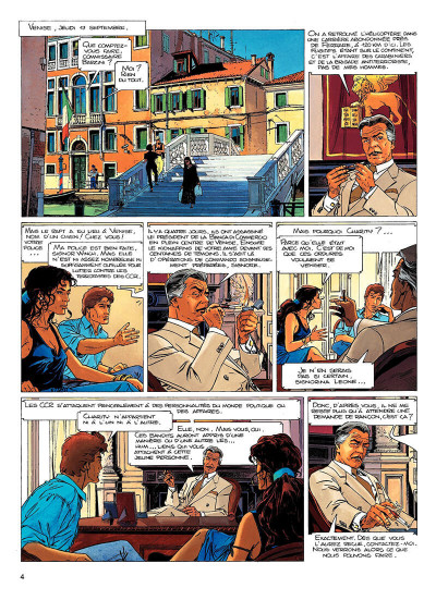 Page 3 largo winch tome 10 - et mourir