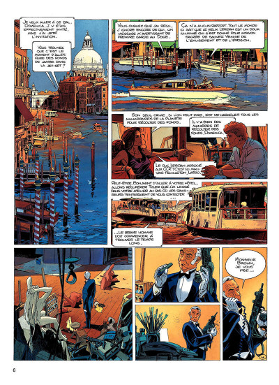 Page 5 largo winch tome 10 - et mourir