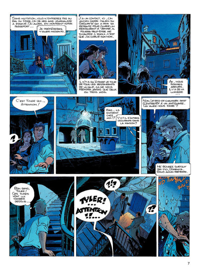 Page 6 largo winch tome 10 - et mourir