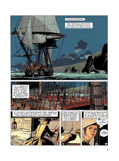 Page 2 l'épervier tome 4 - captives à bord