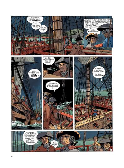 Page 3 l'épervier tome 4 - captives à bord