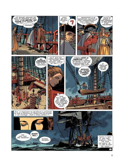 Page 4 l'épervier tome 4 - captives à bord