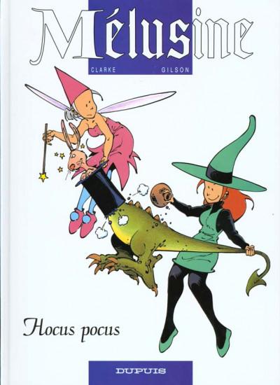 Couverture mélusine tome 7 - hocus pocus