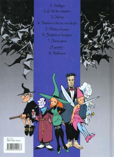 Dos mélusine tome 7 - hocus pocus