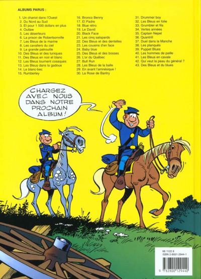 Dos les tuniques bleues tome 43 - des bleus et du blues