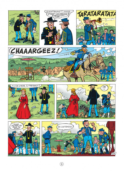 Page 5 les tuniques bleues tome 43 - des bleus et du blues