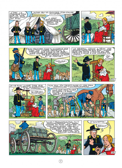 Page 7 les tuniques bleues tome 43 - des bleus et du blues